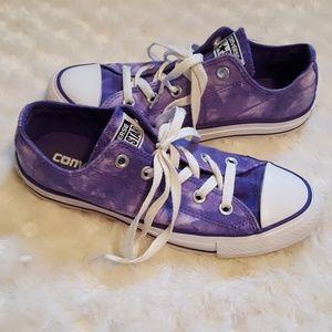 Converse Chuck Taylor All Star purple tie-dye low